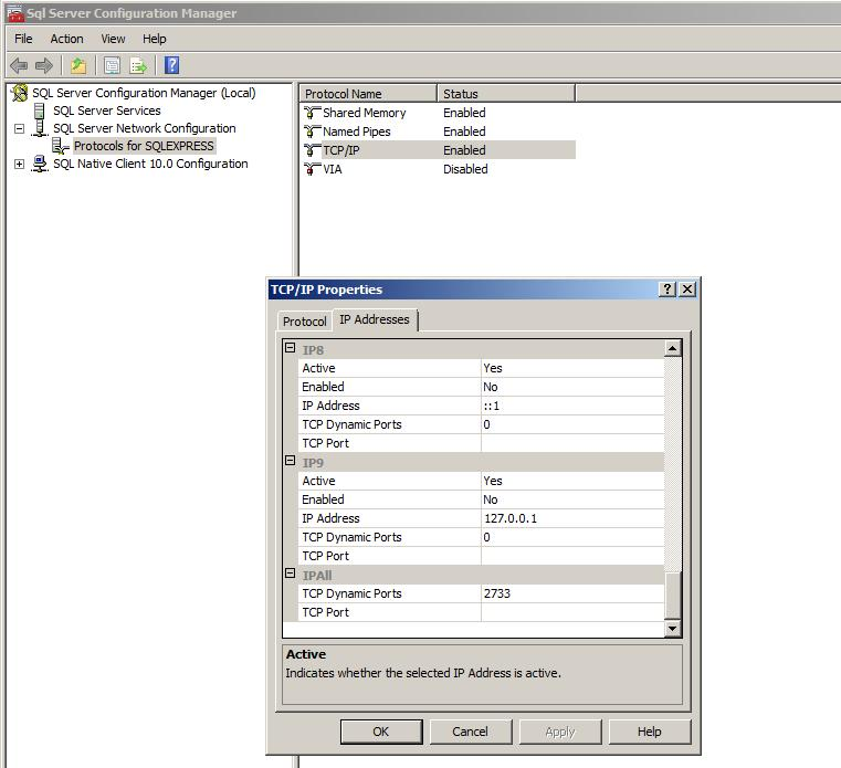 How to configure Visual Paradigm's database configuration with