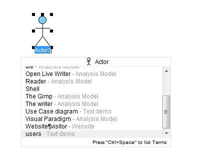 createnewactor - Visual Paradigm 102