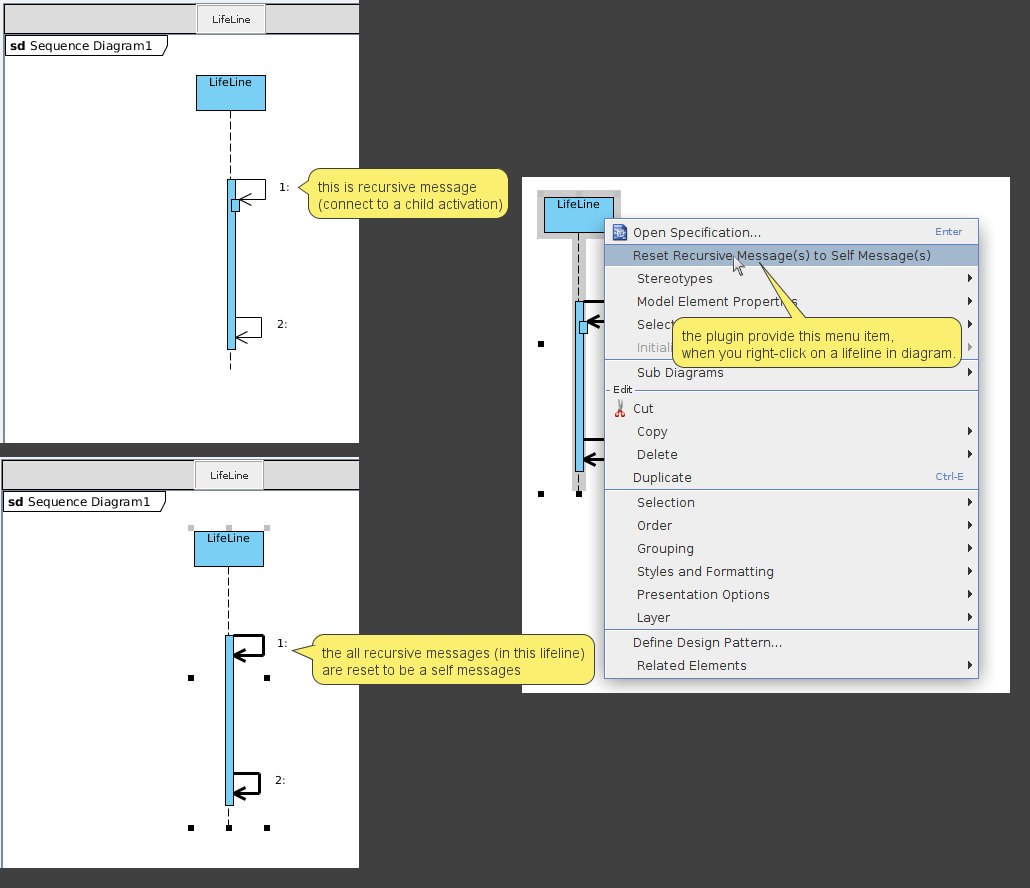 Sequence diagram help to rearrange activity bars uml discuss resetrecursivemessageg1030x888 361 kb ccuart